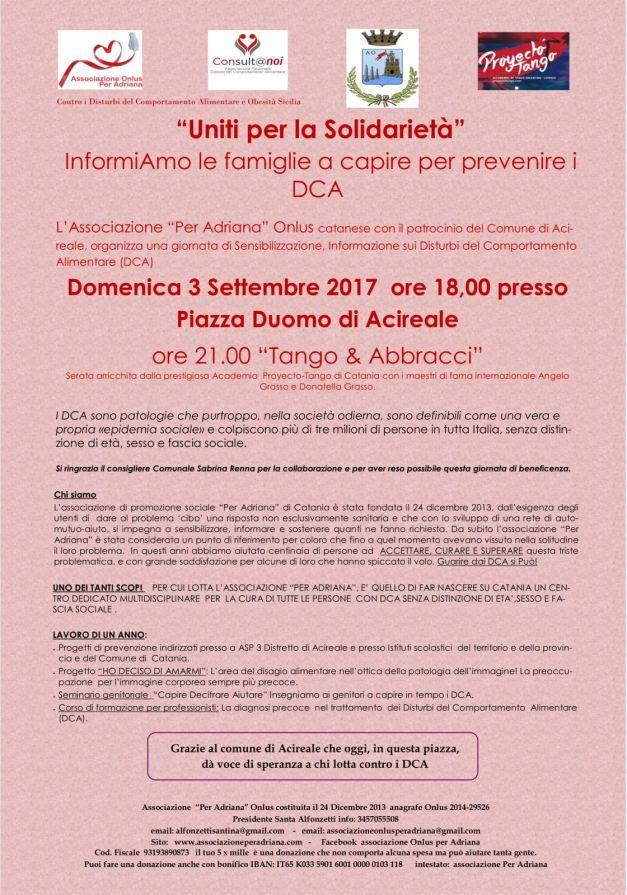 manifesto Acireale 3 settembre 2017